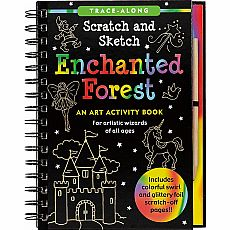 Scratch & Sketch Enchanted Forest