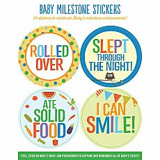 Baby's Firsts Milestone Stickers