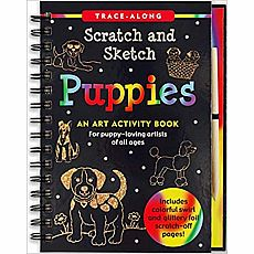 Scratch and Sketch Puppies