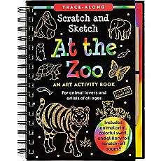 Scratch and Sketch At the Zoo