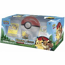 Pikachu and Eevee Poke Ball Collection Pokemon