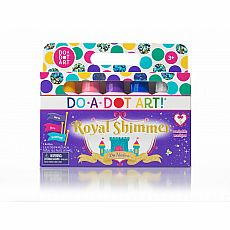Dot-Art Markers 5-pk Royal Shimmer [Washable]