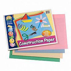 Construction Paper Pad, 36 sheets