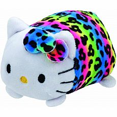 Hello Kitty Teeny Ty Rainbow 4""