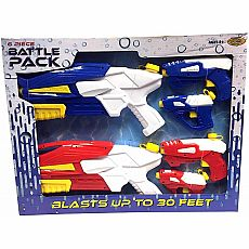Water Squirter Battle Pack, 6pc