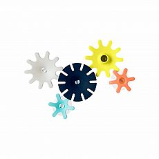Boon Cogs Building Gears Bath Toy Navy/Yellow