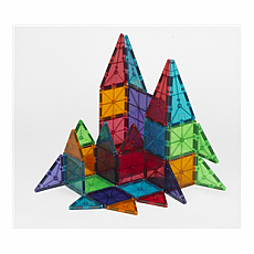 Magna-Tiles DX Deluxe 48pc Clear Set