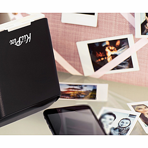 KiiPix Smartphone Printer- Black