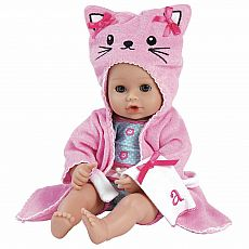 "Adora Bathtime 13"" Baby Kitty"