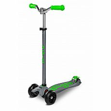 Pro Grey/Green Maxi Deluxe Scooter