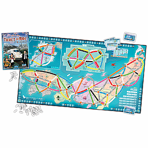 Ticket to Ride Japan/Italy Expansion