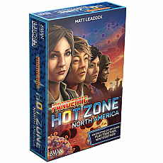 Pandemic Game Hot Zone:  North America