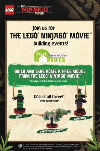 Lego Ninjago Build Instructions - Cheeky Monkey Toys